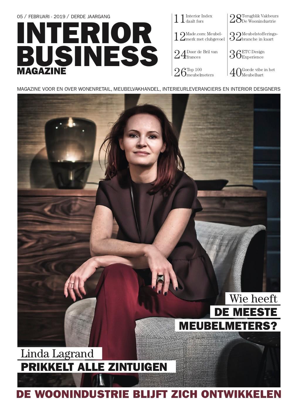 PUBLICATIE IN INTERIOR BUSINESS